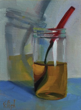 honey jar 2 oil, 8 x 6 cradled wooden box