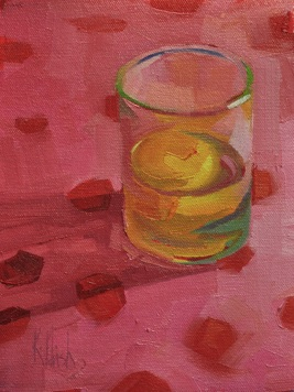 in the glass oil, 8.5 x 8